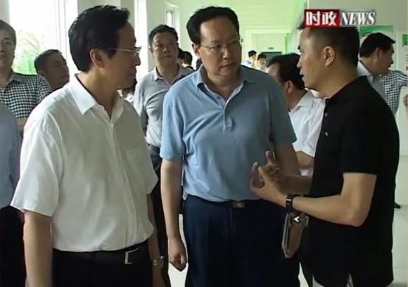 农业部部长韩长赋视察竞博jbo